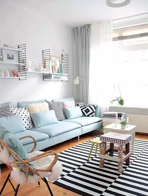 软木地板与沙发颜色怎么搭